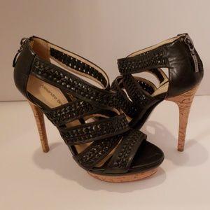 Alexandre Birman Shoes - Alexandre Birman black woven leather sandal